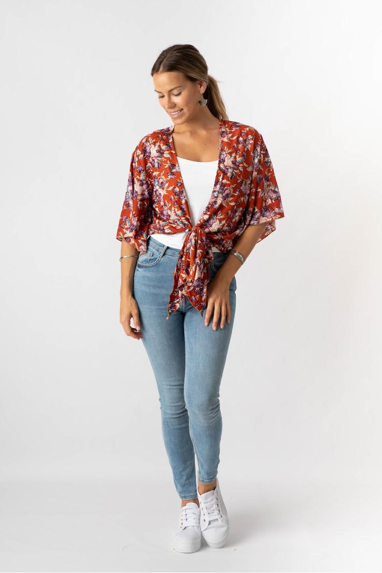 Rust kimono wrap top - pack of 2 | Trada Marketplace