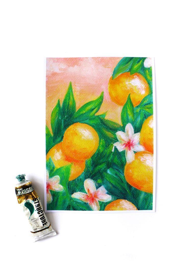 Sweet Oranges Print | Trada Marketplace
