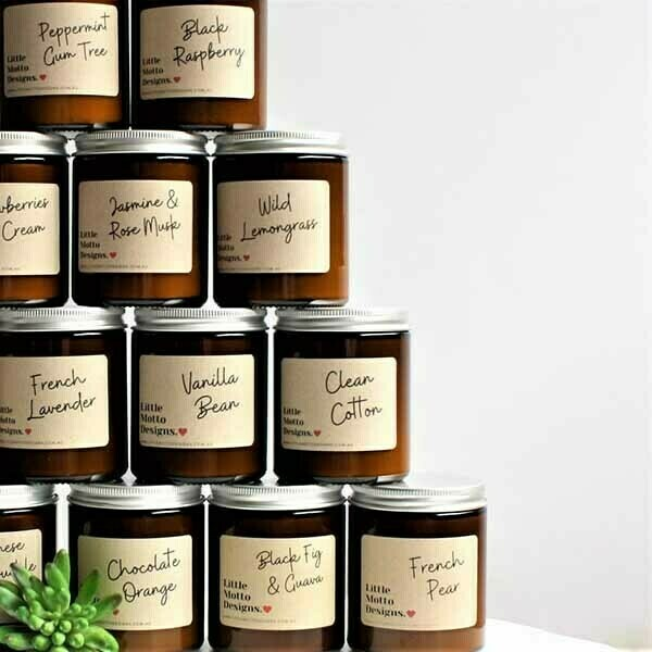 Little Motto Designs Candles | Trada Marketplace