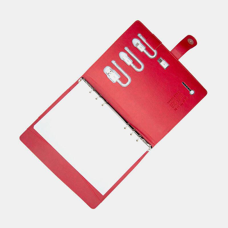 PowerBank Notebook - Red | Trada Marketplace