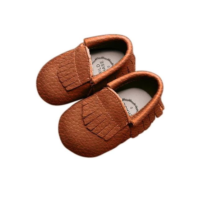 Moccasin - Frill - Brown | Trada Marketplace