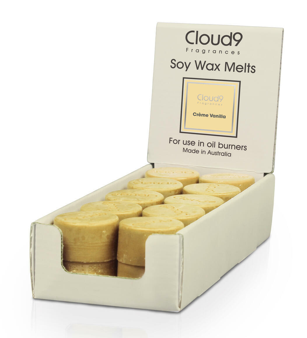 Creme Vanilla Melts-Box of 20 | Trada Marketplace