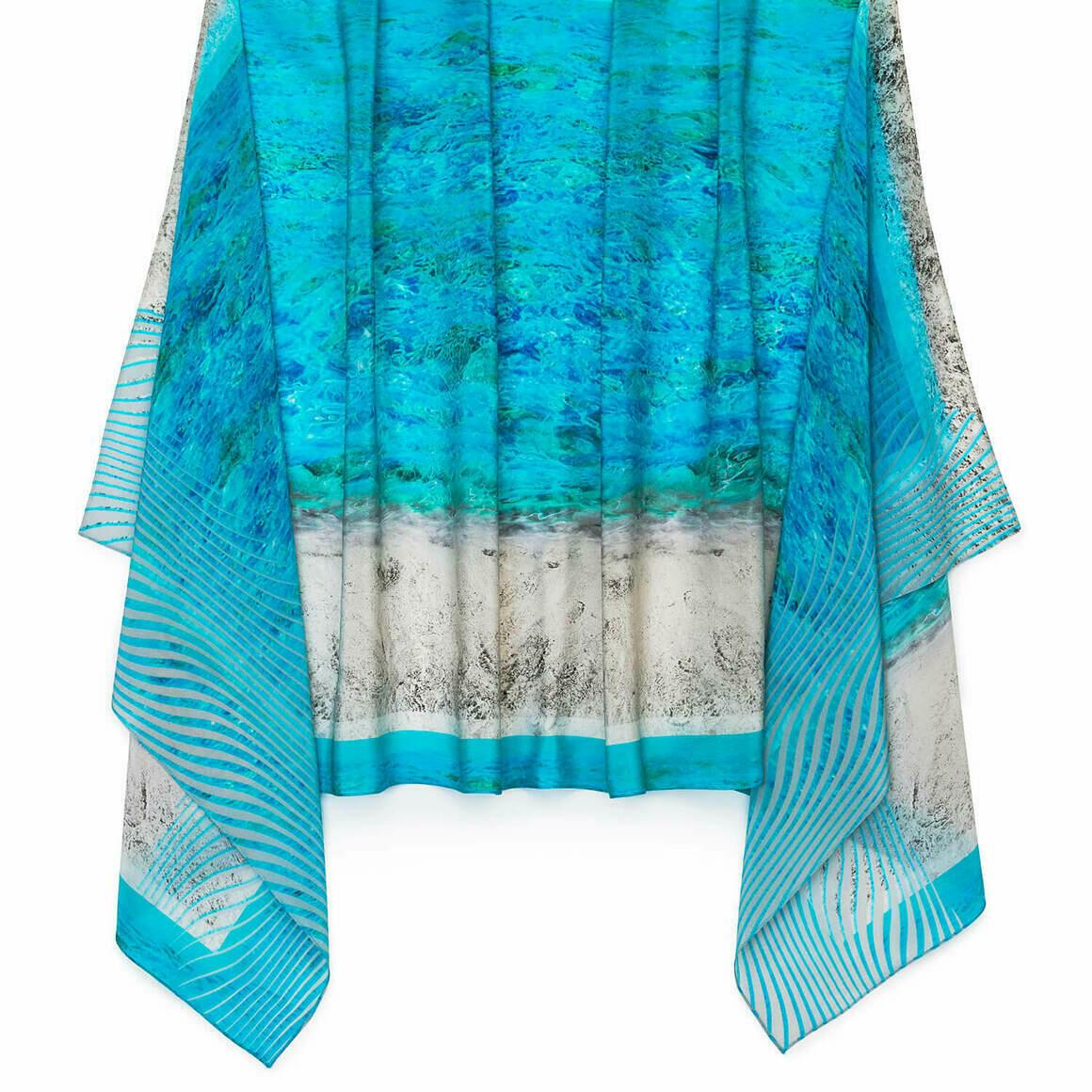 Sand n Sea Silk Scarf   Trada Marketplace